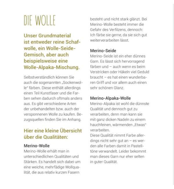 DIY Wolle färben – Natürlich bunt - Ingrid Kleindienst-John