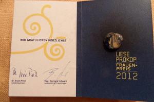 Liese Prokop Preis 2012