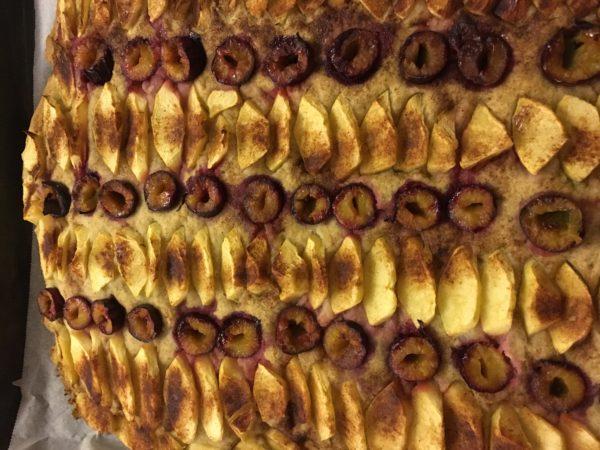 Buchweizen-Kokosmehl-Kuchen