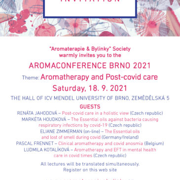 Aromakonferenz in Brünn